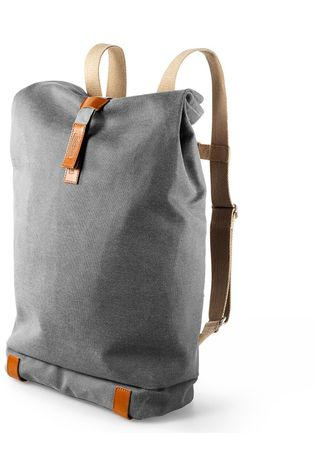 Brooks Fietsrugzak Pickwick Large (26L)- Gray/Honey Middengrijs/Middenbruin