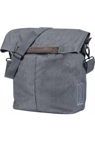 Basil Bike Bag Back City Shopper Dark Grey Marle