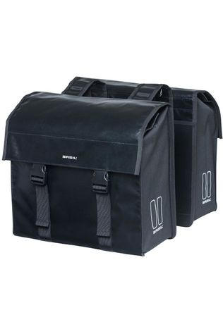 Basil Bike Bag Back Urban Load Double black