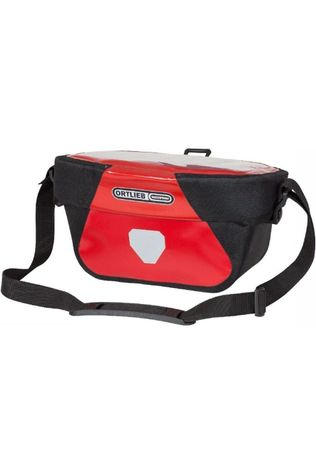 Ortlieb Handlebar Bag Ultimate6 S Classic black/mid red