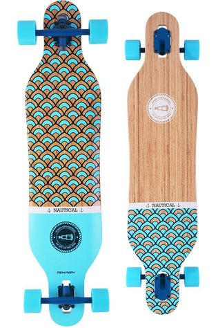 "Tempish Longboard Nautical 41"" Lichtbruin/Blauw"