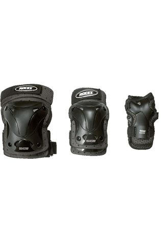 Roces Protection Ventilated 3-Pack black