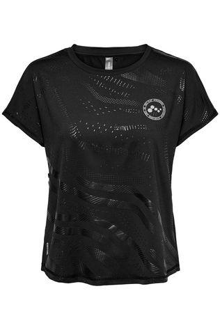 Only Play T-Shirt Onay Aop Loose Ss Training Noir
