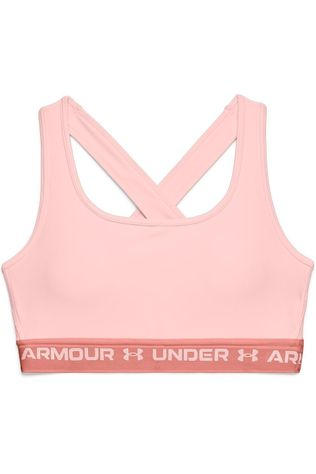Under Armour Sport Bh Crossback Mid Bra Lichtroze