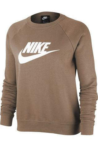 Nike Pull NSW Essential Fleece Brun Sable