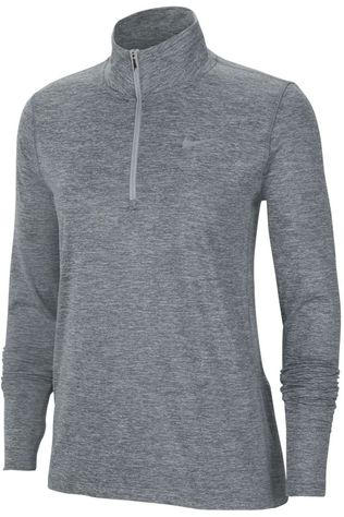 Nike Trui W Element Top Hz Donkergrijs Mengeling