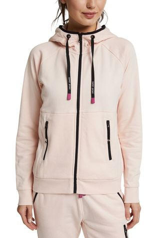 Esprit Pullover Sweat Cardigan Full Zip light pink