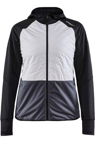 Craft Trui Adv Warm Tech Jkt W Zwart/Wit