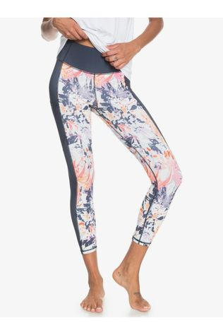 Roxy Collants De Sport Runway Circle Pant Ii Bleu Indigo/Assorti / Mixte