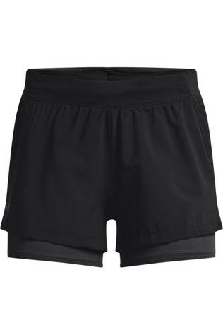 Under Armour Short Isochill Run 2In1 Noir