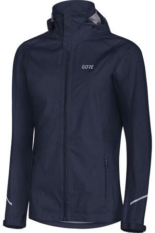 Gore Wear Jas R3 Gore-Tex Active Hooded Indigo Blauw