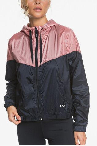 Roxy Windstopper Take It This Zwart/Lichtroze