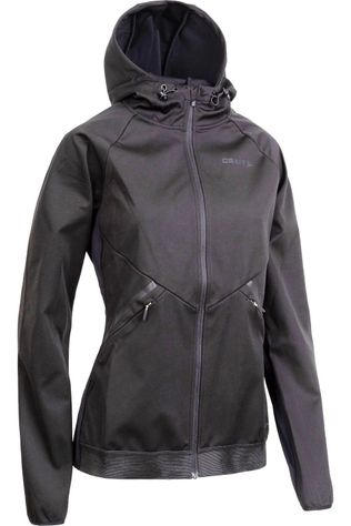Craft Coupe-Vent Glide Hood Jkt W Noir