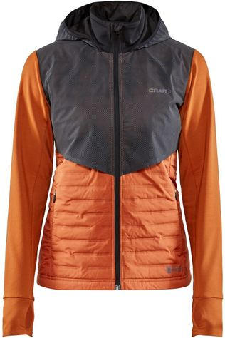Craft Coat Lumen Subzero orange/black