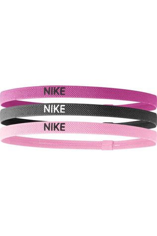 Nike Equipment Elastic Hairbands dark pink/light pink