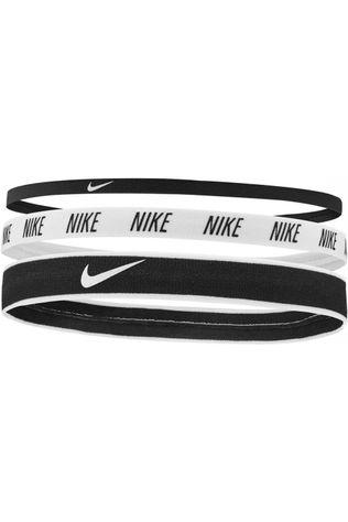 Nike Equipment Hair Ribbon Mixed Width Headbands 3PK black/white