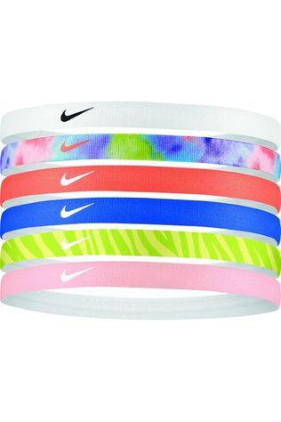 Nike Equipment Hair Ribbon Swoosh Sport Headbands Printed 6Pk 2.0 Assorted / Mixed