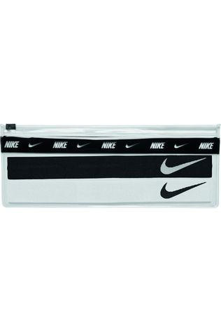 Nike Equipment Bandeau Headbands 2Pk With Pouch Noir/Blanc