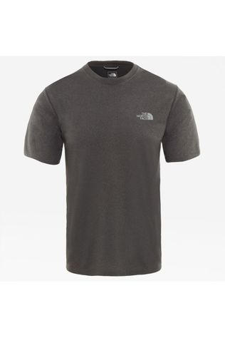 The North Face T-Shirt Reaxion Amp Crew Gris Moyen
