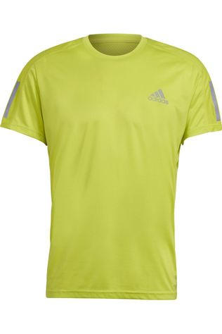 Adidas T-Shirt Own The Run Tee Jaune