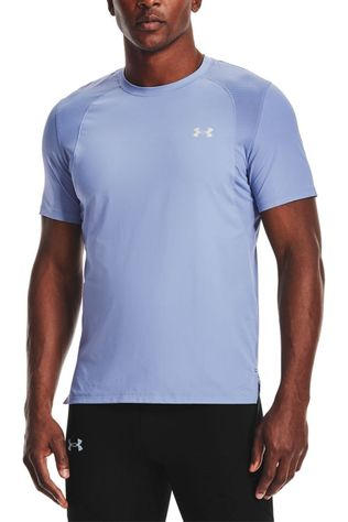 Under Armour T-Shirt Isochill Run Tee 200 Ss Gris Foncé