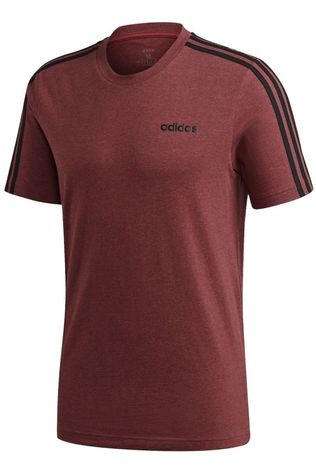 Adidas T-Shirt E 3S Tee Bordeaux / Marron