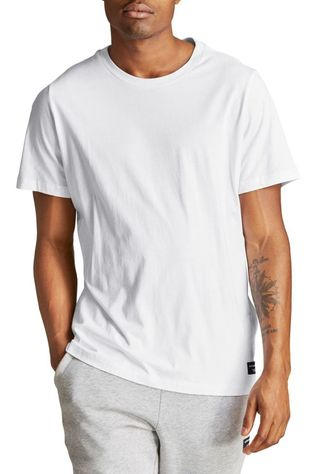 Bjorn Borg T-Shirt Bbcentre Regular Tee Blanc
