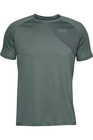 Under Armour T-Shirt Qualifier Iso Chill Ss Blauw