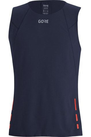 Gore Wear Top Contest Singlet Donkerblauw