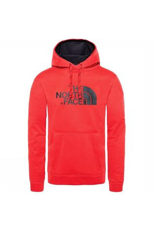 The North Face Trui Surgent Halfdome Po Hoodie Middenrood
