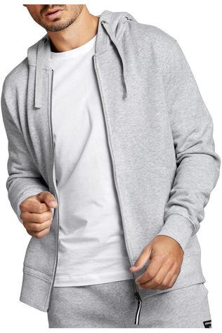 Bjorn Borg Pullover Bbcentre Hoodie Jacket Light Grey Marle