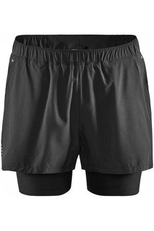 Craft Short Adv Essence 2-In-1 Stretch M Noir