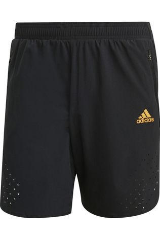 Adidas Short Ultra Short M Noir/Jaune