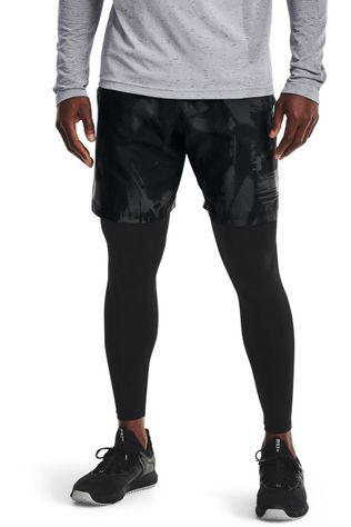 Under Armour Short Woven Adapt Noir/Ass. Camouflage