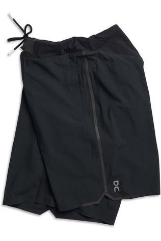 On Running Short Hybrid Shorts Zwart