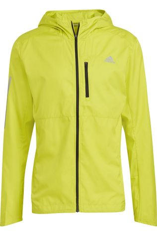 Adidas Windstopper Own The Run Jkt yellow