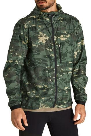 Bjorn Borg Windstopper Wind Jacket Groen/Ass. Camouflage