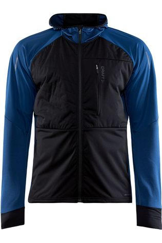 Craft Windstopper Adv Warm Tech Jkt M black/blue
