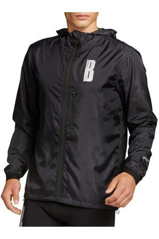 Bjorn Borg Windstopper Night Jacket Running From Daylight Zwart