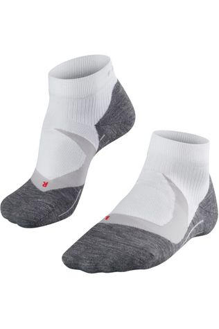 Falke Sock Ru4 Cool white/dark grey