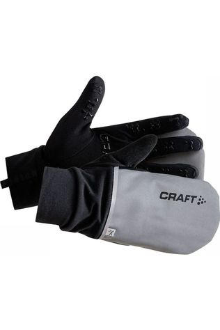 Craft Glove Hybrid Weather silver/black