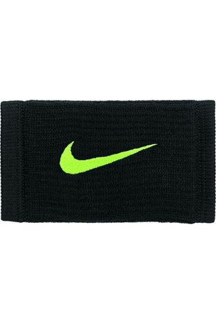 Nike Equipment Wristband Nike Dri-Fit Reveal Double Wide black/yellow