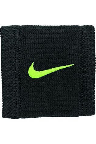Nike Equipment Wristband Nike Dri-Fit Reveal black/yellow