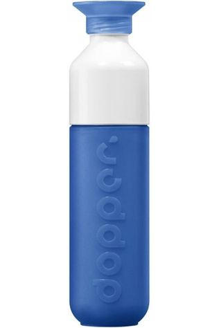 Dopper Drink Bottle Original mid blue/white