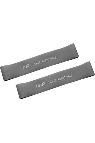 Casall Materiel Fitness Rubber Band Light 2Pcs Gris Clair