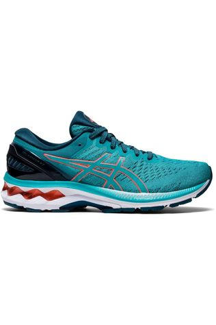 Asics Shoe Gel-Kayano 27 Mid Blue (Jeans)/Red