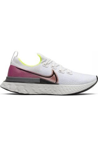 Nike Shoe Nike React Infinity Run Flyknit off white/red