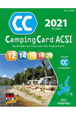 Acsi Campingcard 2018 Gps 20 Countries Dutch 2021