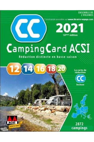 Acsi Campingcard 2018 Gps 20 Countries French 2021