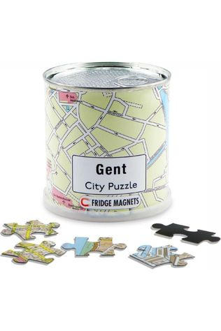 EXTRAGOODS Antwerpen City Puzzle Magnets 2015